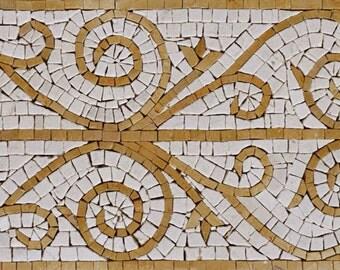 Mosaic Border - Pastel Geo