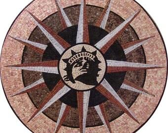 Mosaic Tile Decoration - Liberty