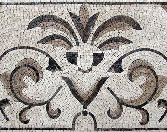 Majestic Floor Mosaic - Ophelia