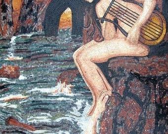 John Waterhouse The Sirens Mosaic Artwork