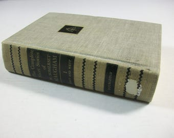 Short Stories of W Somerset Maugham Book 1 East and West, Vintage Short Stories, 1934 Vintage Literature, Ex Library Book