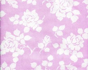"""Free Spirit Sunshine Roses """"Delilah"""" Rosie Pink Fabric"""