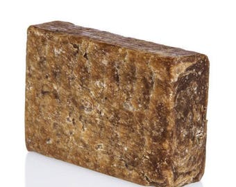Raw African Black Soap Bar