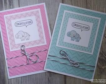 Elephant Congratulations