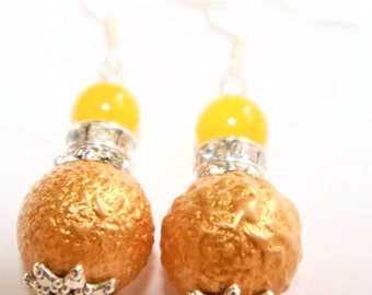 Rondelle earrings