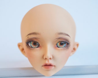 10mm 12mm 14mm 16mm 18mm Realistic Light Green + Orange Handmade acrylic+resin BJD doll eyes by WillStore