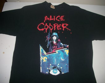 ALICE COOPER tour shirt 1997 Carnival of Sins