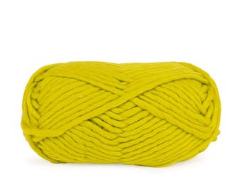 CITRINE Funky Chunky - Super Soft Merino Wool Yarn