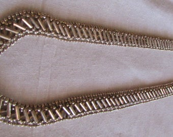 """Sterling Silver Beaded Chain 18"""" Necklace"""