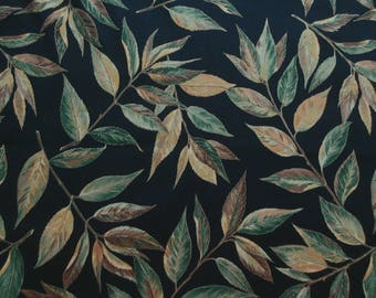 Large Leaves  Fabric - VIP Cranston Fabrics - 1 Yard