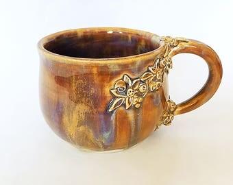 Ceramic Flower Mug (11 fl oz)