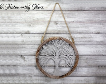 clearance sale round wall art tree wall hanging metal tree art - Metal Tree Wall Decor