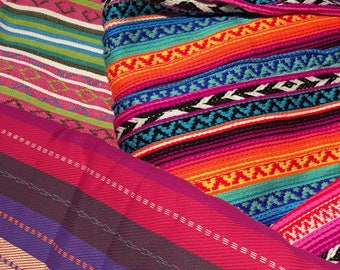 Mexican Fabric Cotton Remnants - 100g (3.5oz) Packs - Crafts Idea From Australia.