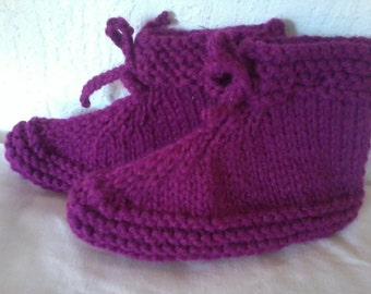 SLIPPERS wool and acrylic size 35-40