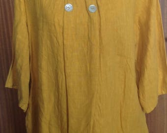 Ladies linen tunic