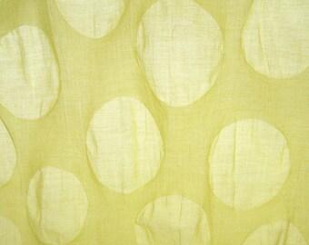 Tsumiki Japanese Cotton Fabric Plisse Polka Dot, Kokka Fabric, By The Yard, Free Shipping