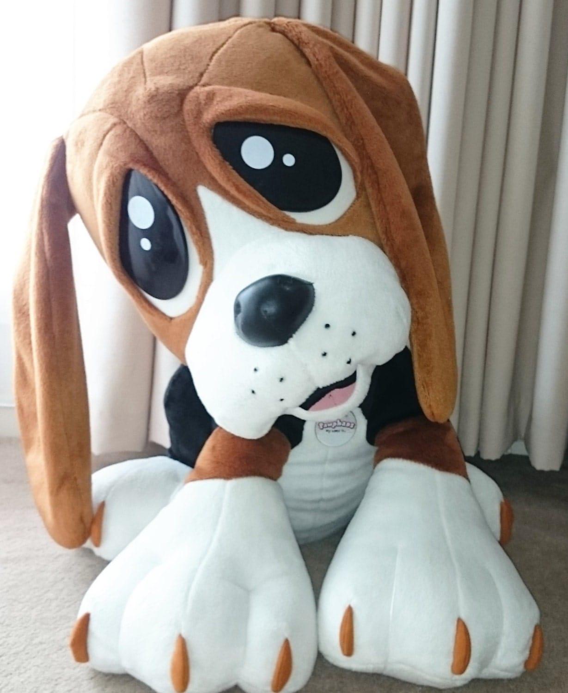 Large Toy Dogs : Giant cuddly dog toy pawphans large plush soft