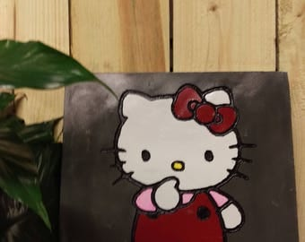 Hello Kitty Garden Stone