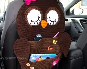 Crochet Owl Organizer
