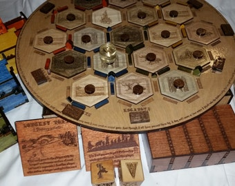 LORD of the RINGS/HOBBIT Settlers of Catan Board Game (Complete game)