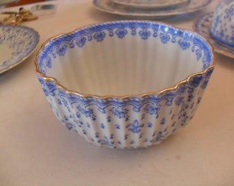 Schaller & co sugar bowl, sugar pot 20 years, Fleur de Lys