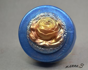 ROSE FLOWER SOAP mold silicone mould bar   plaster clay wax resin