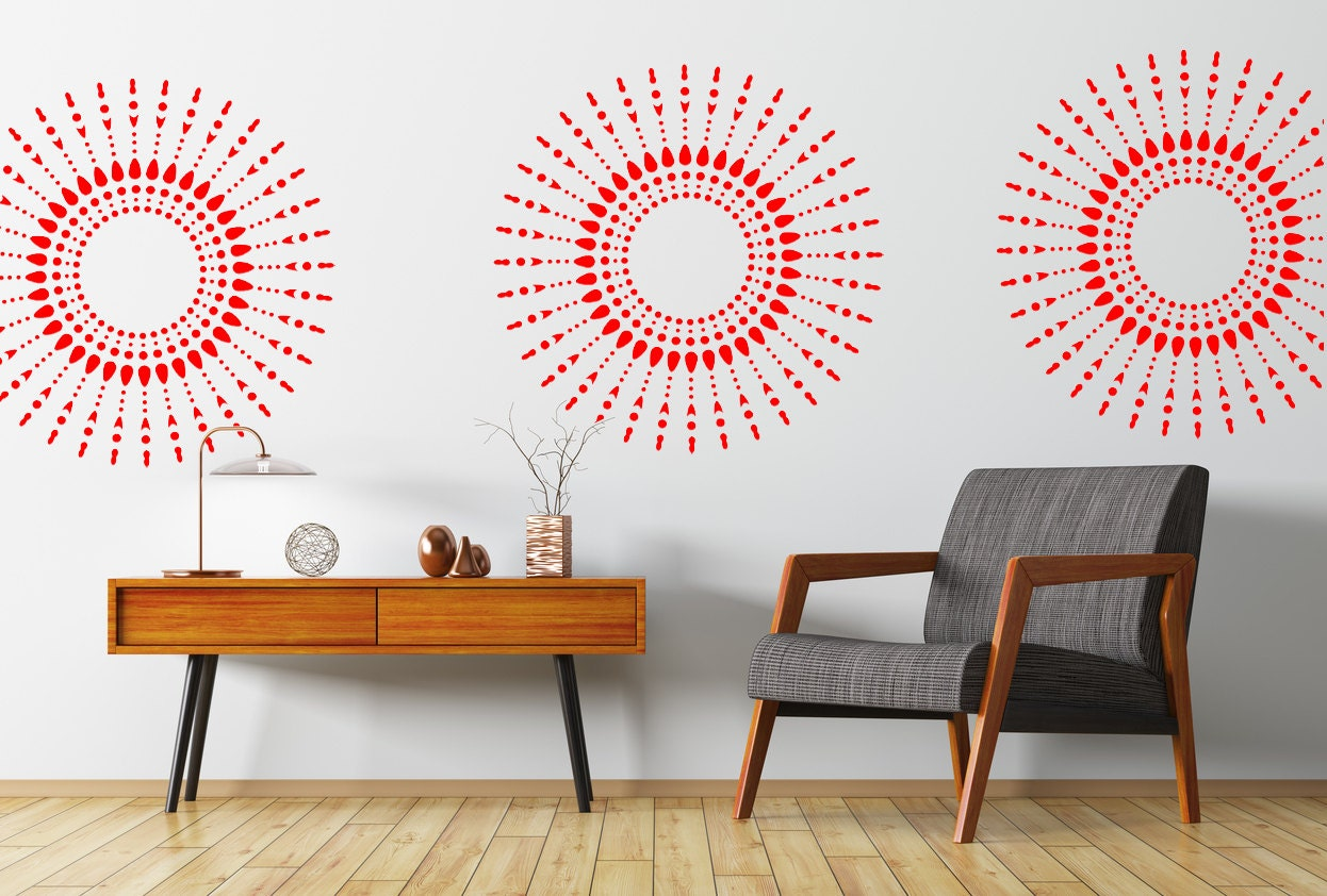 Mandala wall stencil wall art stencil in reusable mylar zoom amipublicfo Choice Image