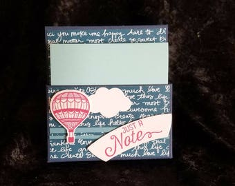Stampin Up Sticky Note Pad Easel * Handmade Stand for Note Pad