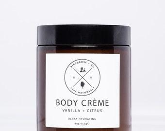 Body Creme - Vanilla + Citrus
