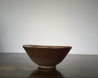 Vintage Studio Pottery Bowl by Adolf and Louise Schwenk