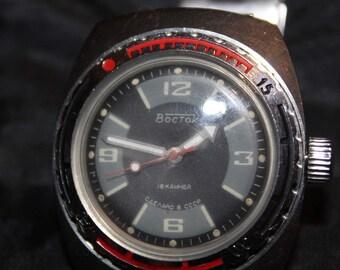 Watch Wostok Amphibian 200m USSR