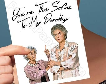 Funny Mothers Day | Dorthy | Betty White Sophia Mom Mommy Card Encouragement Cards Card For Mothers Mothers Day Gift Card For Girlfriend Her