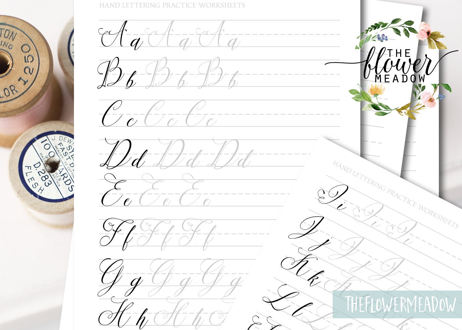 Calligraphy tutorial hand lettering guide modern