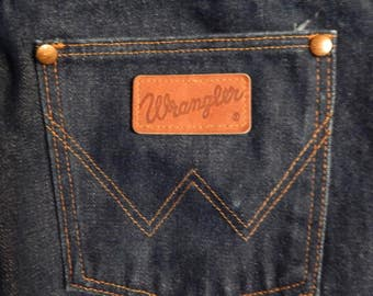 Late 70's/Early 80's Wrangler mens jeans