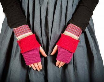 Milliefiori For Disorder Handmade Wool Mittens