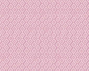 Monaluna Wanderlust fabric - Diamond in the Rough - organic fabric, purple fabric, purple diamonds, watercolor fabric, organic cotton, lilac