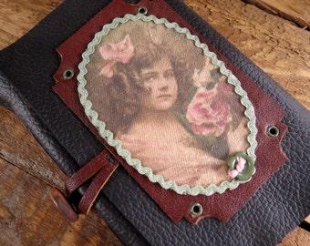 Emma: Leather journal, Handmade