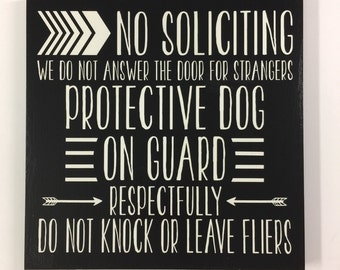 11x11 No Solicitation Sign, No Soliciting Sign, No Soliciting Yard Sign, No Solicitors, Front Door Sign, Front Door Decor, Yard Sign Wood