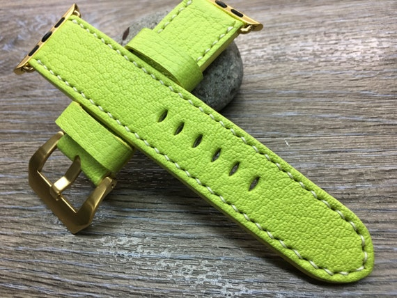 Leather Watch Strap | Leather Watch Band | Apple Watch Strap | Apple Watch Band, Christmas Gift for her - Apple Watch 38mm & 42mm