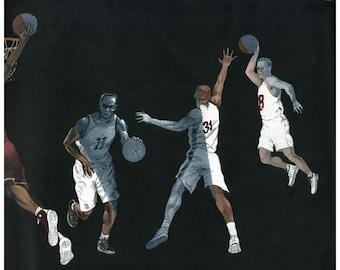 Sport Basketball 2662IN IN2662 Wallpaper Border