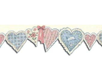 Hearts SU75903DC Wallpaper Border