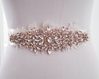 SALE Wedding Belt, Bridal Belt, Sash Belt, Crystal Rhinestones pearl sash belt