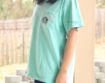 Nurse Shirt, RN Shirt, Nursing Student, Comfort Colors, Personalized Nurse TShirt, Monogrammed Nurse TShirt, Nurse Gifts, Stethoscope Shirt