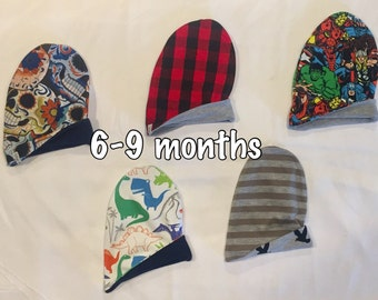 RTS Reversible Slouchy Beanie 6-9 months