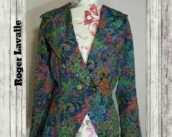 Vintage Roger Lavalle Jacket Size 38