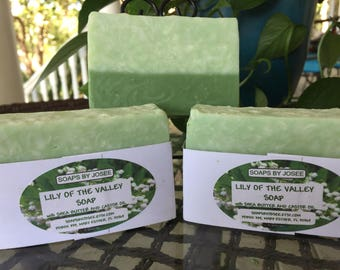 Lily of the Valley Old Fashioned Soap