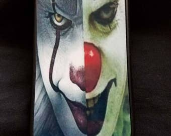 """Pennywise The Clown """"It"""" Inspired Cell Phone Case"""