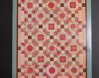 Parlor Charm Quilt Pattern and Embroidery CD