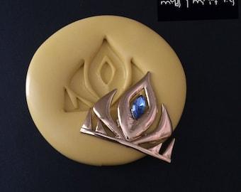Elsa Inspired Tiara Silicone Mold