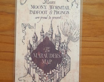 Harry Potter Marauders Map Bookmark